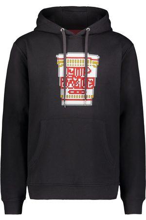 Mostly Heard Rarely Seen 8-Bit Hot Pasta print hoodie