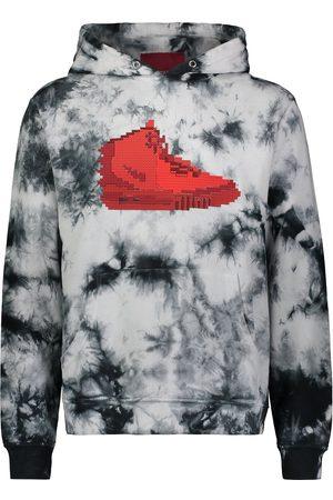 Mostly Heard Rarely Seen 8-Bit Sneaker tie-dye hoodie