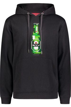Mostly Heard Rarely Seen 8-Bit Herren Sweatshirts - Green Bottle print hoodie