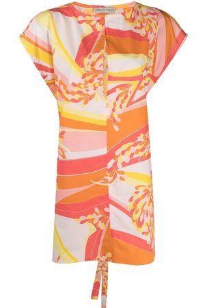 Emilio Pucci Damen Bedruckte Kleider - Abstract-print beach dress
