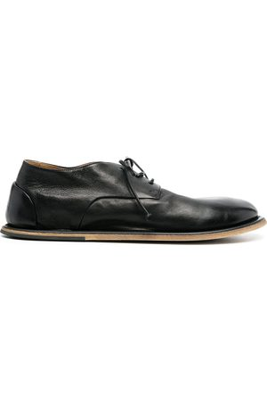 Marsèll Damen Schnürschuhe - Flat-rounded lace-uo leather shoes