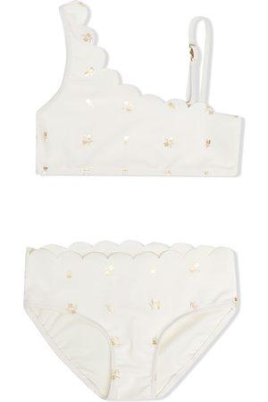Chloé Kids Mädchen Tankinis - Floral-print two-piece bikini