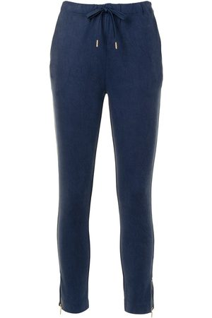 Lisa Von Tang Drawstring waist trousers