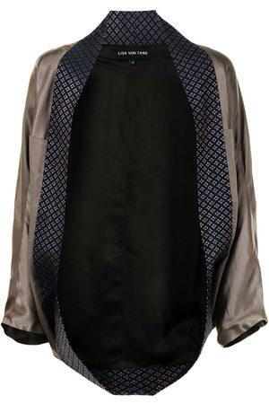 Lisa Von Tang Damen Kimonos - Open-front kimono jacket