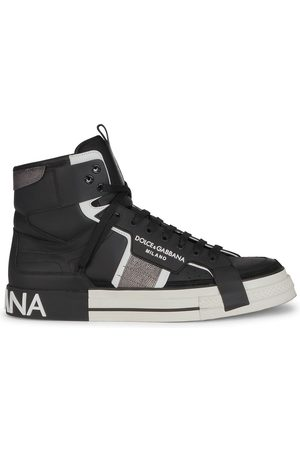 Dolce & Gabbana High-top lace-up sneakers