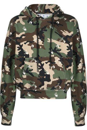 Off-White Herren Sweatshirts - Camouflage-print hoodie