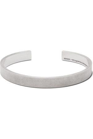 Le Gramme 21g brushed logo bracelet