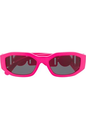 Versace Eyewear Sonnenbrillen - Medusa Biggie oval frame sunglasses