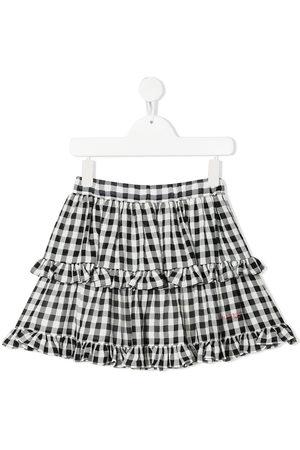 Philosophy Di Lorenzo Serafini Kids Gingham-print skirt