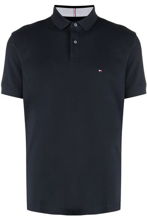 Tommy Hilfiger Logo-patch polon shirt