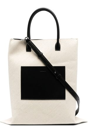Jil Sander Damen Shopper - Patch-pocket tote bag