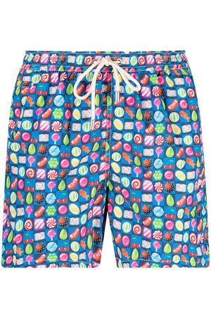 Mc2 Saint Barth Herren Badehosen - Candy-print swim shorts