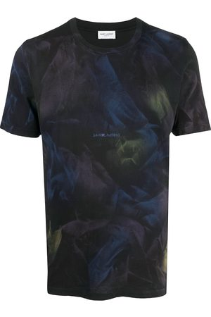 Saint Laurent Herren Shirts - Abstract print T-shirt