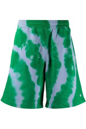 MSGM Tie-dye shorts