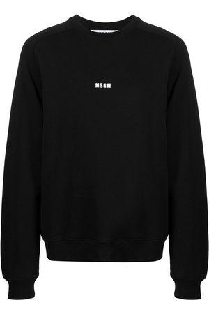 MSGM Micro logo cotton sweatshirt