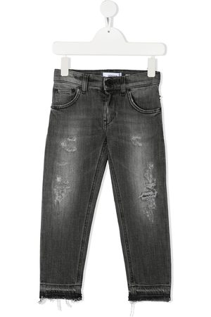 Dondup Jungen Jeans - Ripped skinny-fit jeans