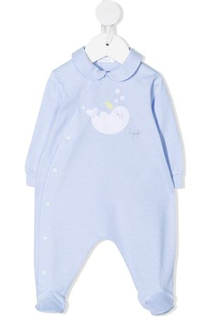 Il gufo Schlafanzüge - Embroidered seal pyjamas