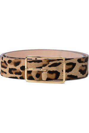 B-Low The Belt Leopard print belt