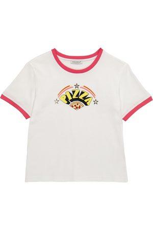 Dolce & Gabbana Kids Bedrucktes T-Shirt aus Baumwolle