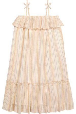 Bonpoint Gestreiftes Kleid Samantha