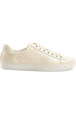 Gucci GG embossed low-top sneakers