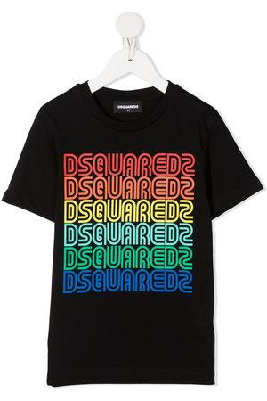 Dsquared2 Jungen Kurze Ärmel - Logo-print short-sleeve T-shirt