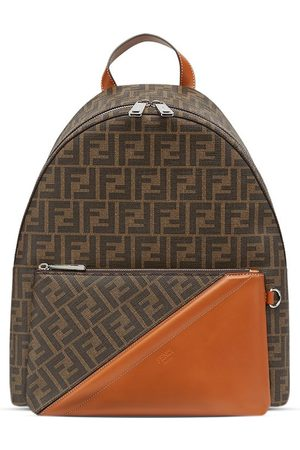 Fendi Logo-print backpack