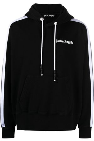 Palm Angels Herren Sweatshirts - Side-stripe hoodie