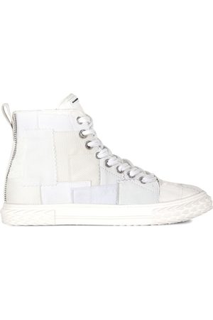 Giuseppe Zanotti Patchwork high-top sneakers