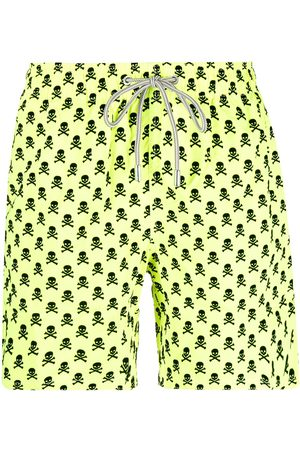 Mc2 Saint Barth Skull-print swim shorts