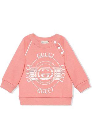Gucci Kids Gucci disk-print sweatshirt