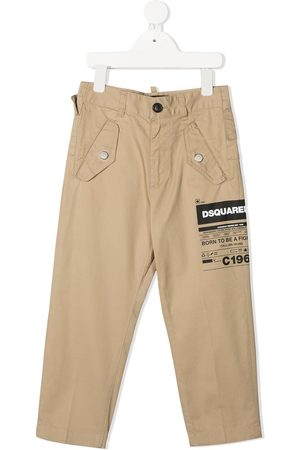 Dsquared2 Jungen Chinos - Logo-print trousers