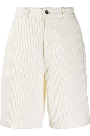 Ami Multi-pocket corduroy shorts