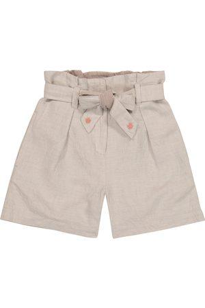 Bonpoint Shorts Nath mit Leinenanteil