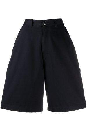 AMI Paris A-line knee-length shorts