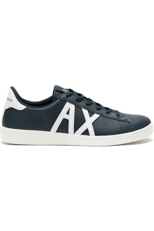 Armani Exchange Herren Sneakers - XUX016XCC60 A138 Furs & Skins->Calf Leather