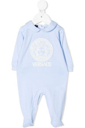 Young Versace Medusa-print pajamas