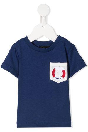 Monnalisa Shirts - Logo patch T-shirt