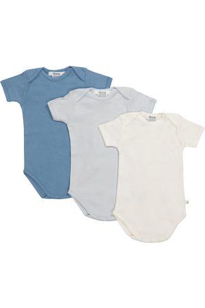 Bonpoint Baby Set aus drei Bodys aus Baumwolle