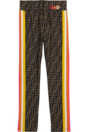 Fendi Kids Leggings FF aus Jersey