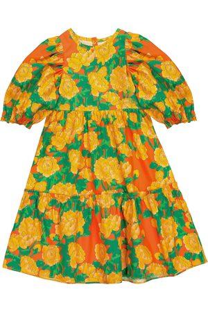 Mini Rodini Kleid Peonies aus Baumwolle