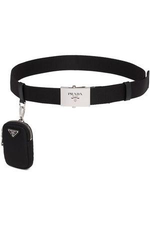 Prada Pouch detail logo belt