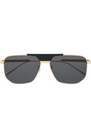 Bottega Veneta Hexagonal-frame sunglasses