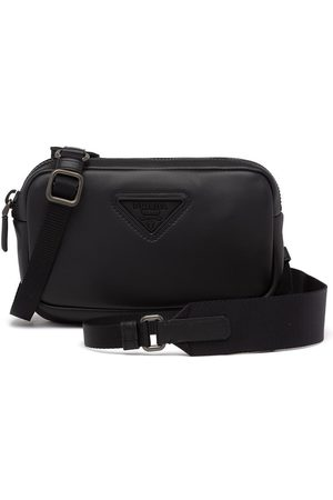 Prada Compact logo shoulder bag