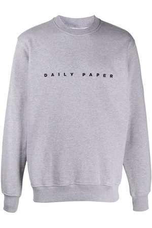 Daily Paper Sweatshirts - Logo-embroidered sweatshirt