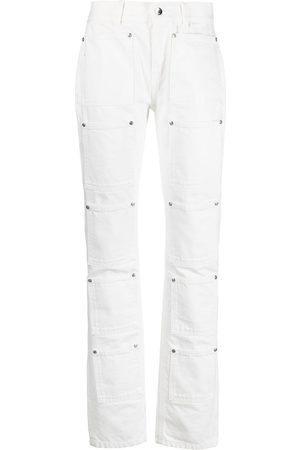 Lourdes Damen High Waisted - High-rise multi-pocket flared jeans