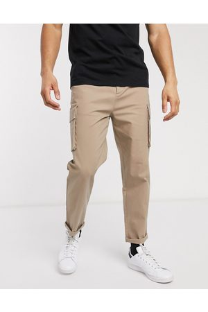 ASOS Relaxed cargo trousers in