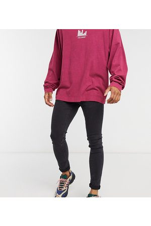 Collusion X001 skinny jean in washed black