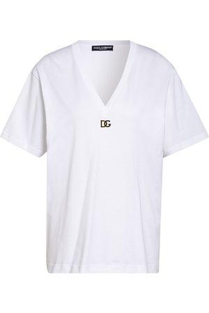 Dolce&Gabbana Damen Shirts - T-Shirt weiss