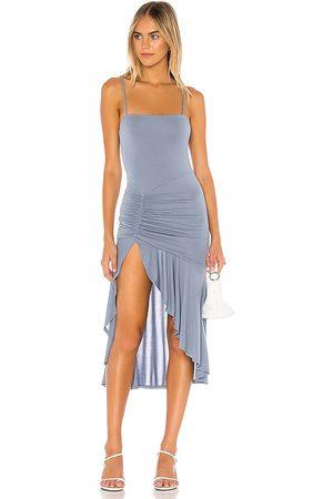 Lovers + Friends Damen Midikleider - Aniyah Midi Dress in - Blue. Size M (also in XS, XL).